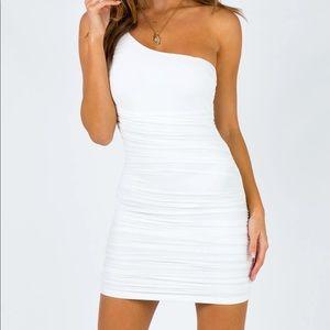 Mini Princess Polly Dress White